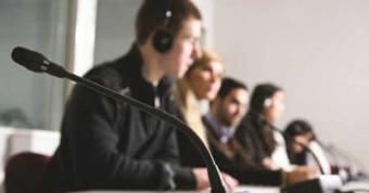 Открытый микрофон для переводчика