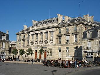 Кампус вуза Бордо
