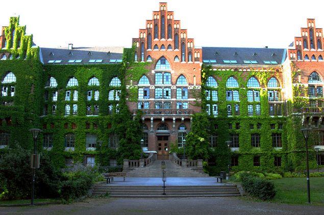 Университет в городе Лунд, Швеция