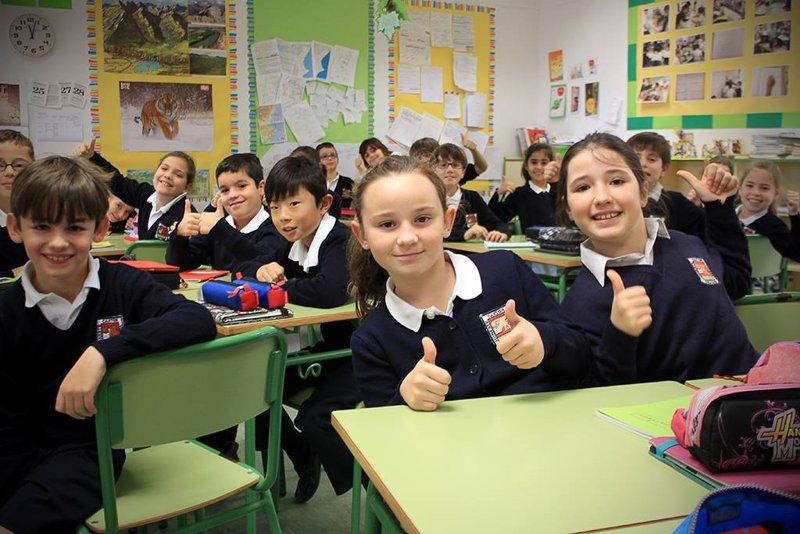 Ученики испанской средней школы