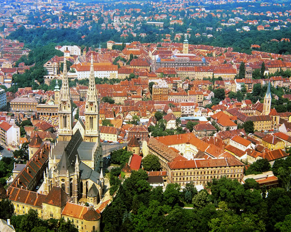 Хорватскийй город Загреб