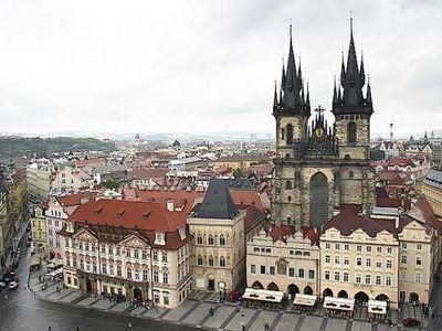 Чешская столица