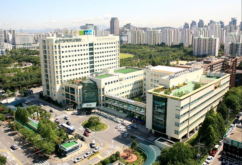 Госпиталь при вузе Южной Кореи