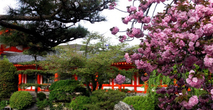 Типичный парк Японии