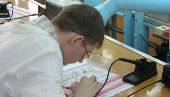 Студент познает особенности профессии