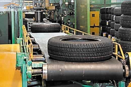 Фото: Производство шин