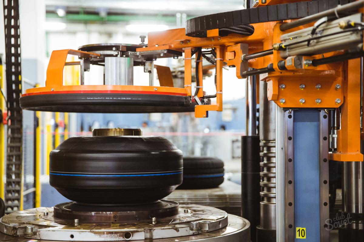 Фото: Оборудование для производства шин