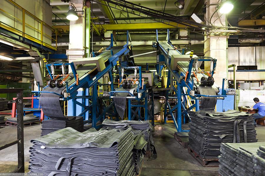 Цех по производству технических изделий из резины