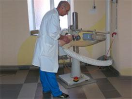 Фото: Специализированное оборудование для изготовления протезов