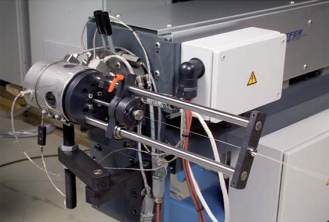 Фото: Оборудование для производства оптических шнуров и волокон