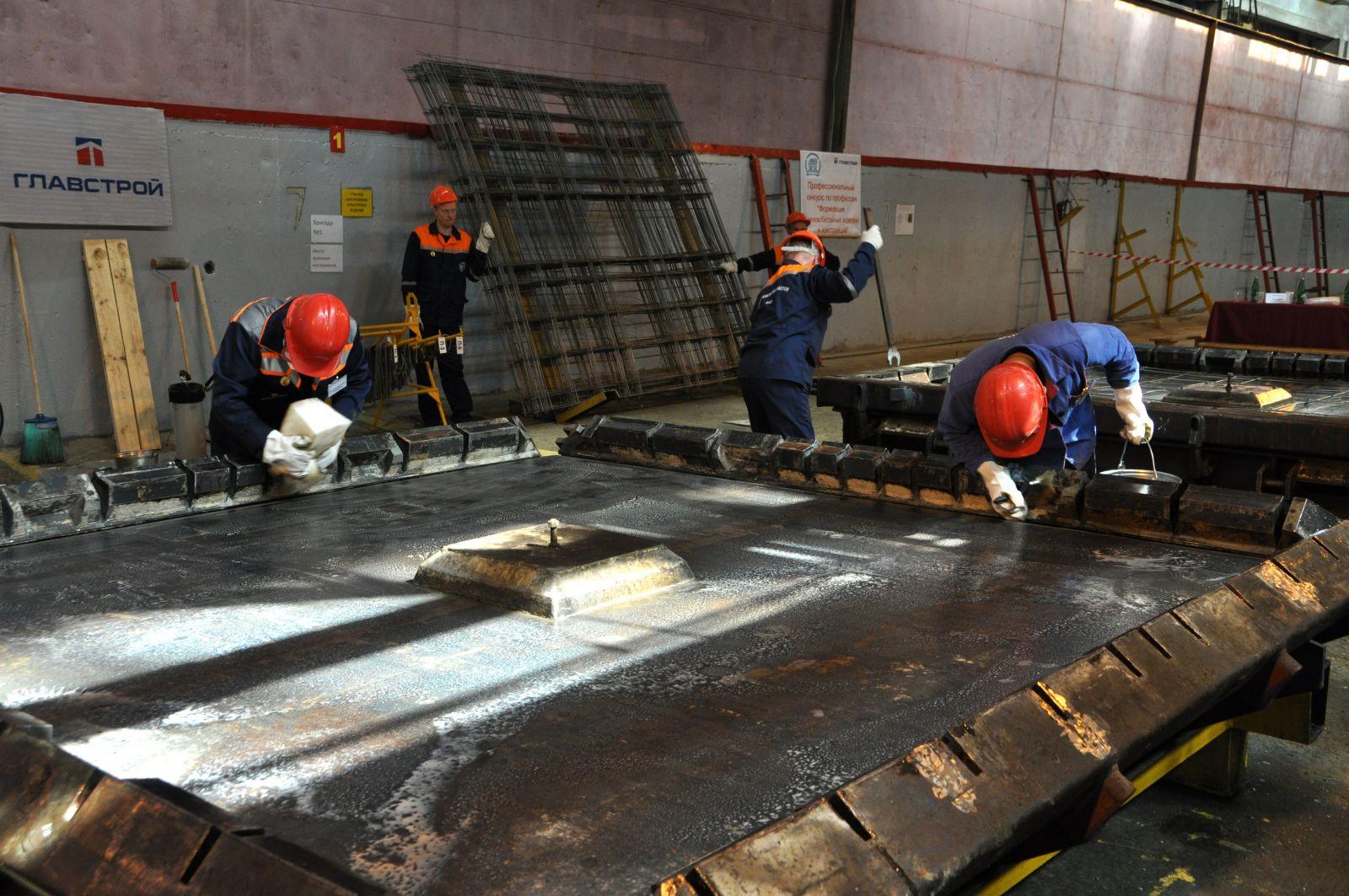 Формовщики ЖБИ занимаются изготовлением конструкции