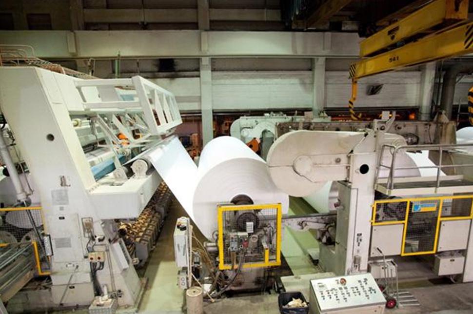 Линия бумажного производства