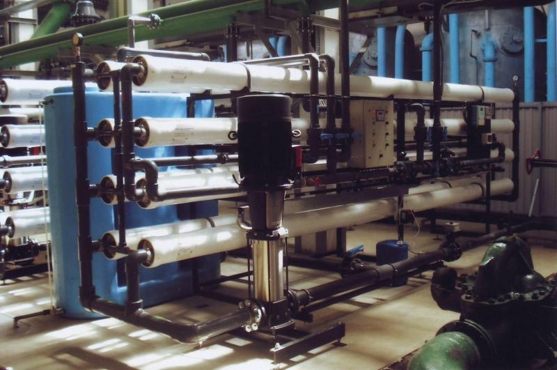 Установка опреснения воды