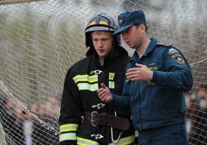 Обучение пожарных в колледжах МЧС