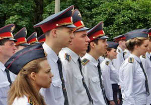 Курсанты колледжа полиции №2