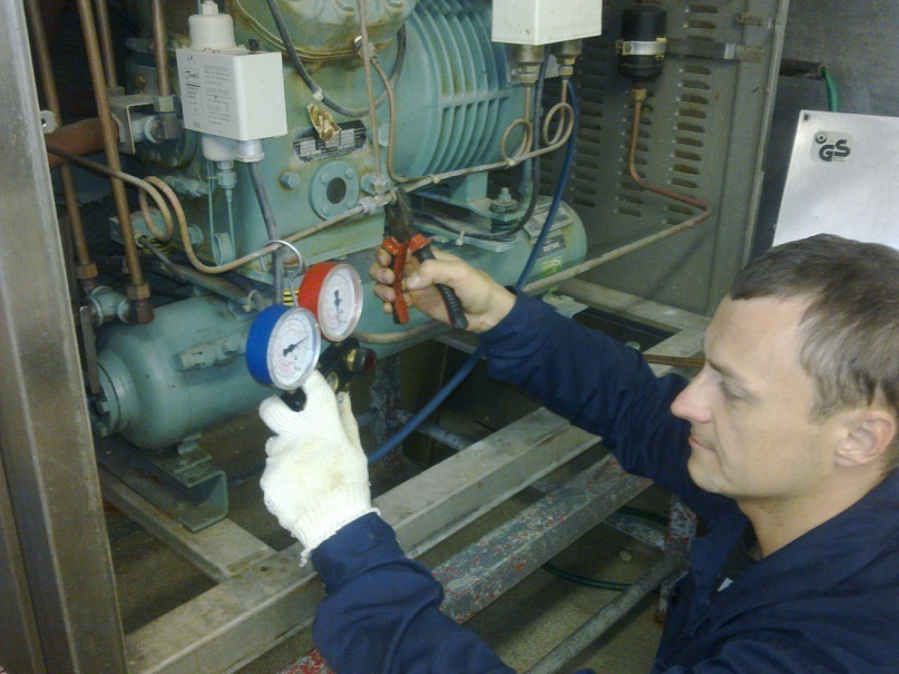 Фото: Обязанности электромеханика по холодильному оборудованию