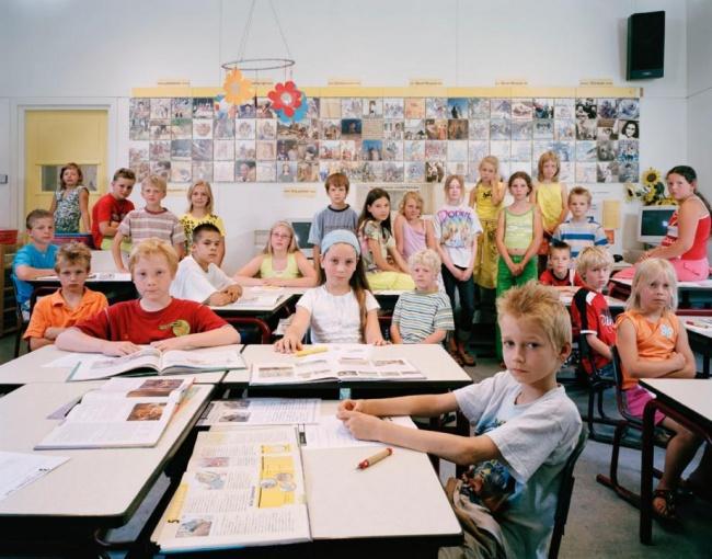 Занятия в детской языковой школе Голландии