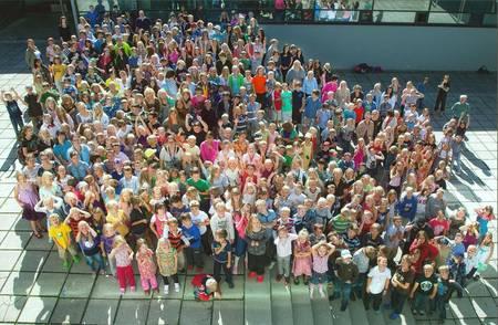 Ученики детской языковой школы Финляндии