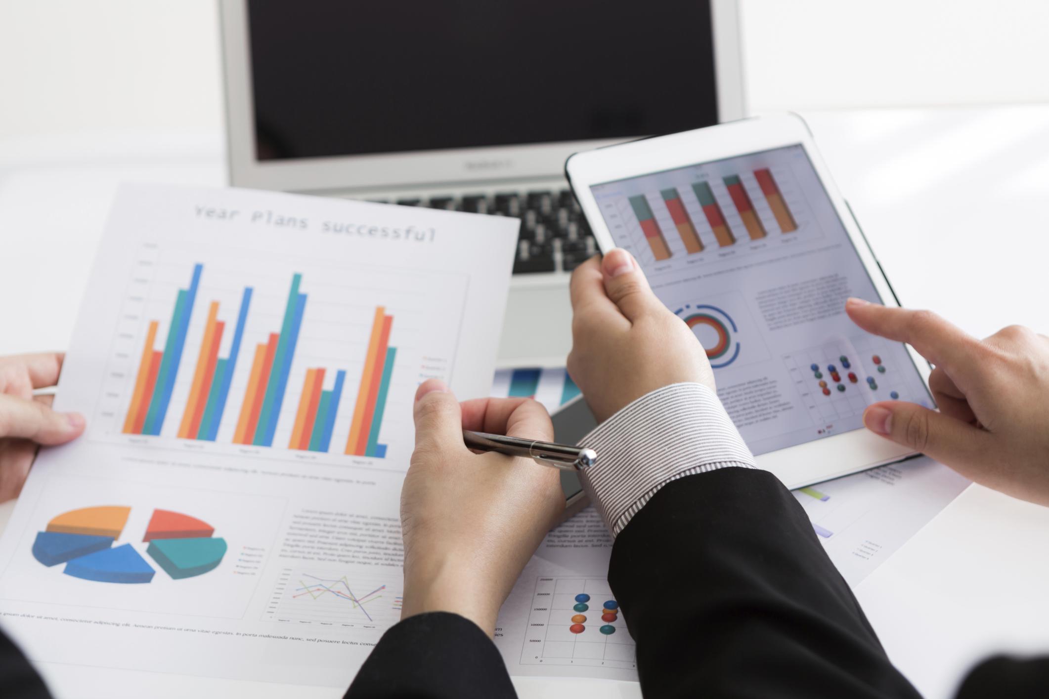 Маркетологи проводят исследование рынка