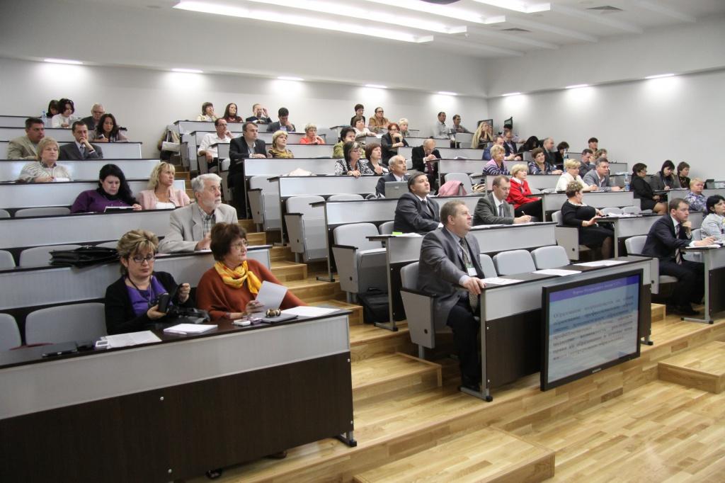 Студенты на одной из лекций в вузе