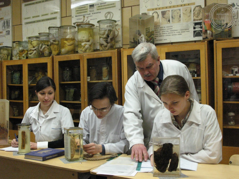 Студенты-медики проходят обучение в ординатуре