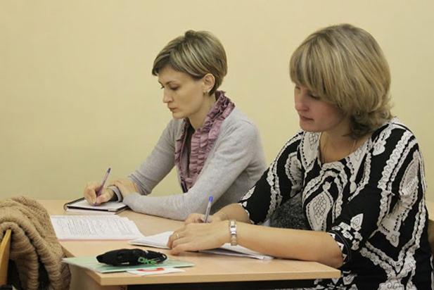 Женщины получают послевузовское профессиональное образование