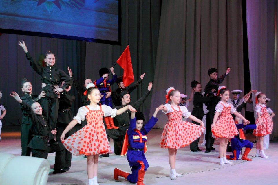 Ученики российского учреждения дополнительного образования на концерте