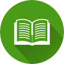 Книжка на зеленом фоне