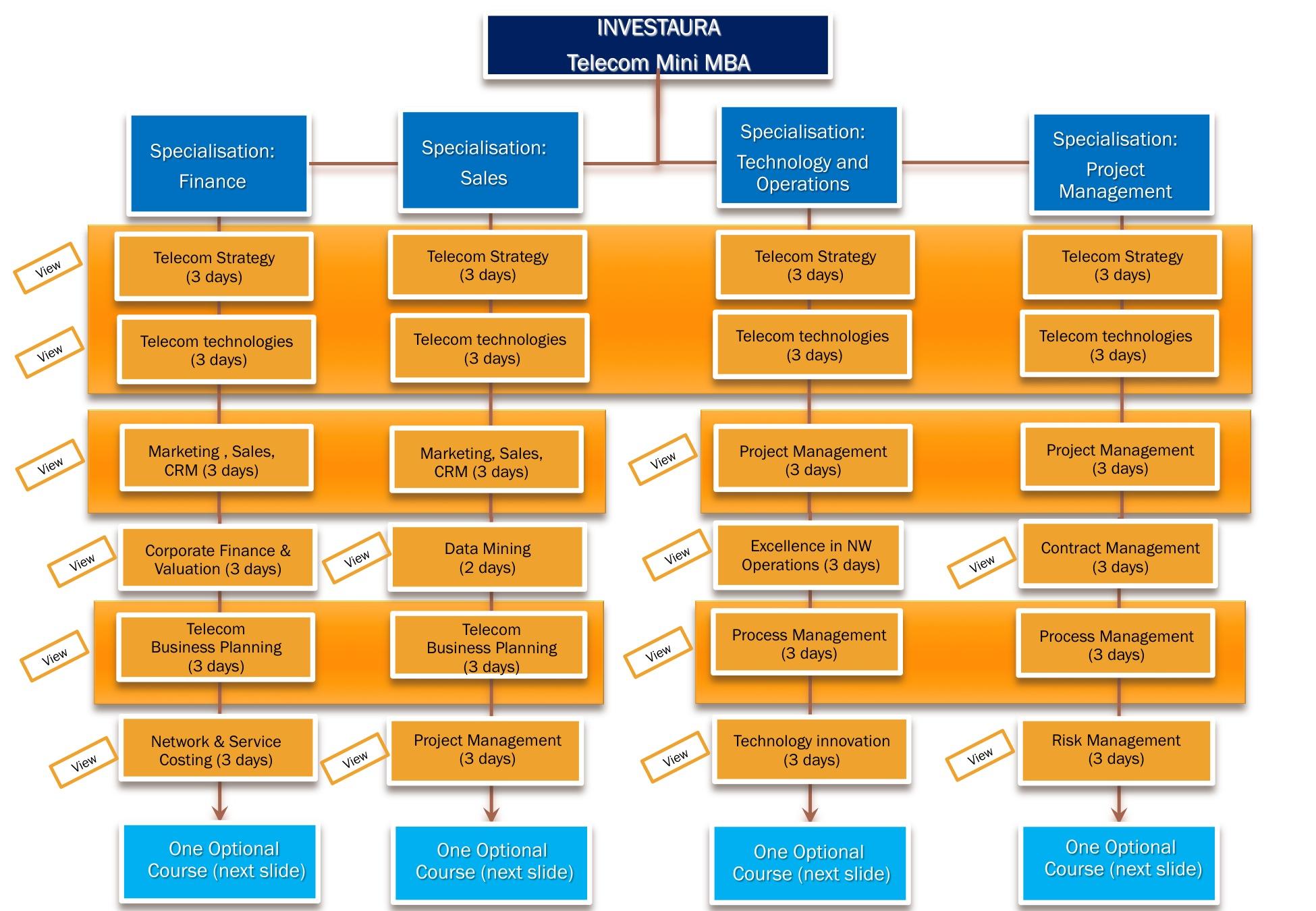 Структура mini-MBA