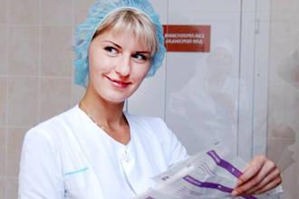 Медсестра улыбается
