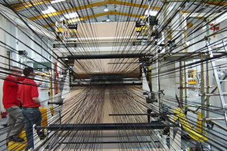 Производственный процесс химического волокна