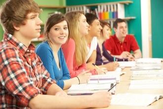 Группа студентов на экзамене