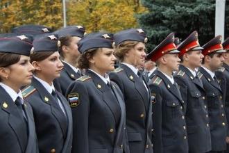 Будущие сотрудники МВД