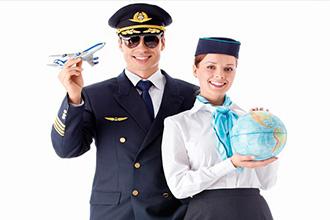 Стюардесса и пилот