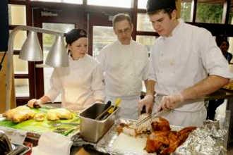 Обучение готовки в ресторане