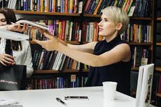 На встрече с читателями