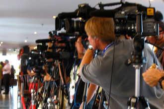 Подготовка камер перед интервью