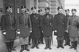 Полицейские в царской России