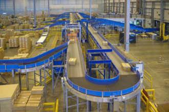 Современный автоматизированный склад