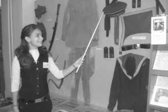 Экскурсовод при музее в СССР