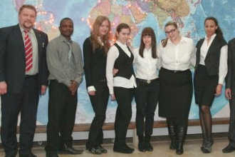 Студенты российского института туризма