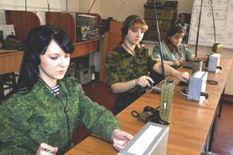Девушки армейские радистки