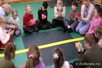 Занятия по физкультуре с детьми