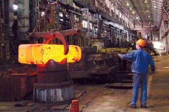 Кусок нагретого металла