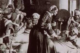 Историческая картина медсестра