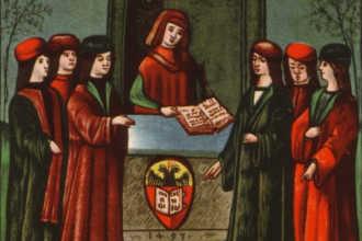 Редактура в средневековье