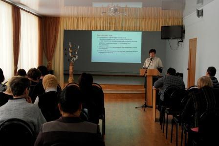 Преподаватели на лекции об интеграции общего и дополнительного образования