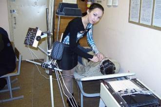 Будущий медицинский физик на практических занятиях