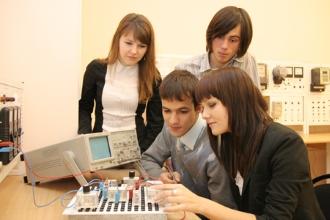 Студенты кафедры автоматизации технологических процессов