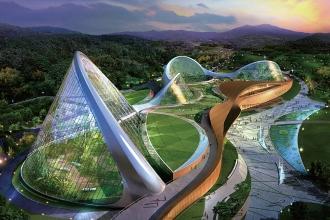 Пример дизайна архитектурной среды